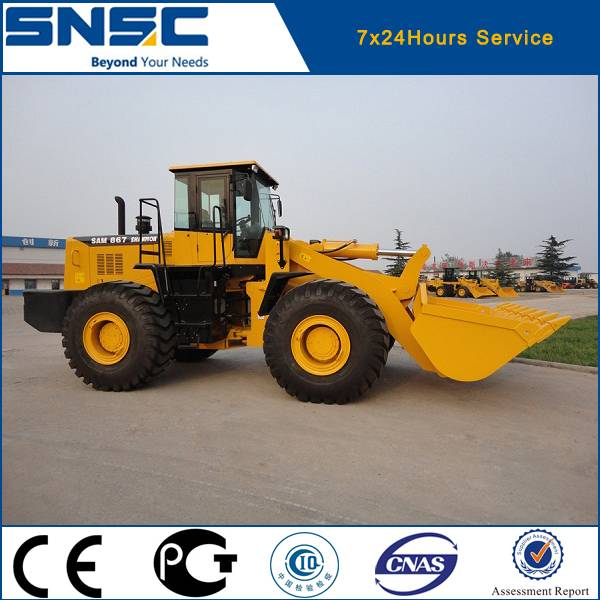 6 ton Chinese front end articulated loaders