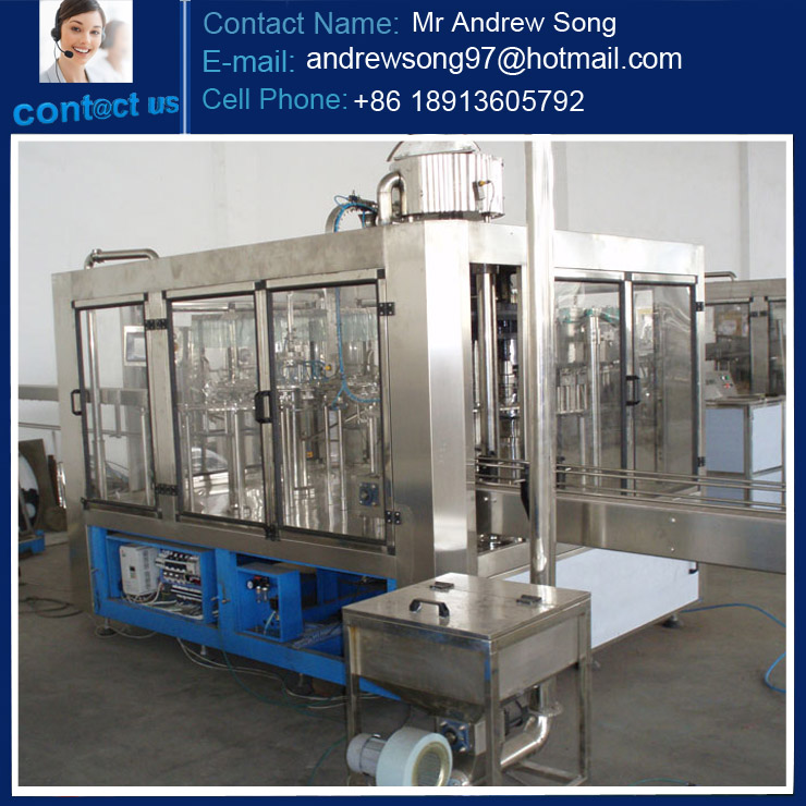 PET bottle carbonated soft drinks bottling production line with factory price