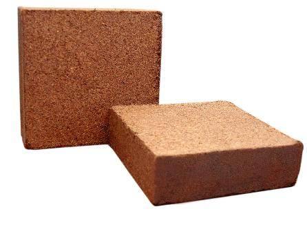 Coir Briquettes for Bulk Export