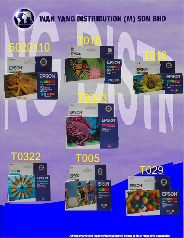 Selling Epson Inkjet Cartridge