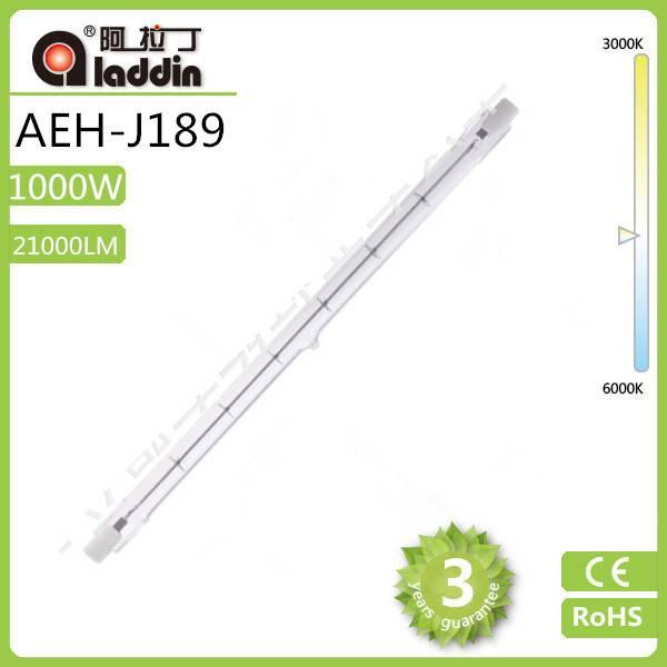 1000W Double Ended R7S, J189 tube lamp, Linear Halogen Bulbs tungsten halogen lamp Flood Light