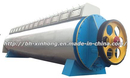 Dual Heating-Discs Fishmeal Dryer Conforming to Pressure Vessels Standard