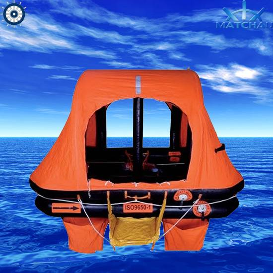 Throw Overboard Self-Righting Inflatable Life Raft (ISO 9650-1 regulation, For yacht)