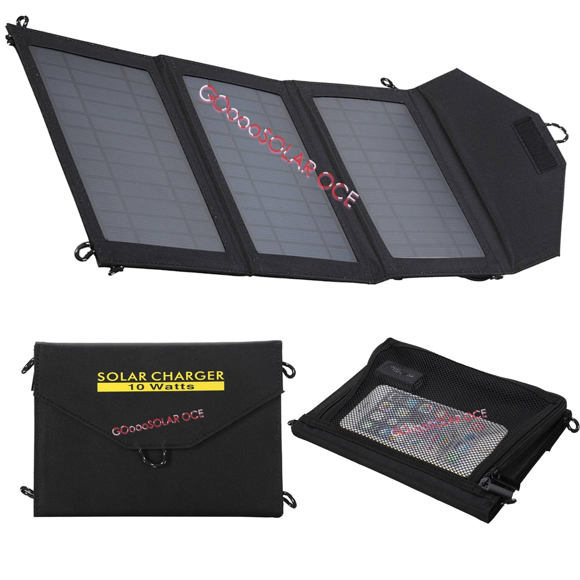 14w Portable Folding Solar Phone Charging Chargers