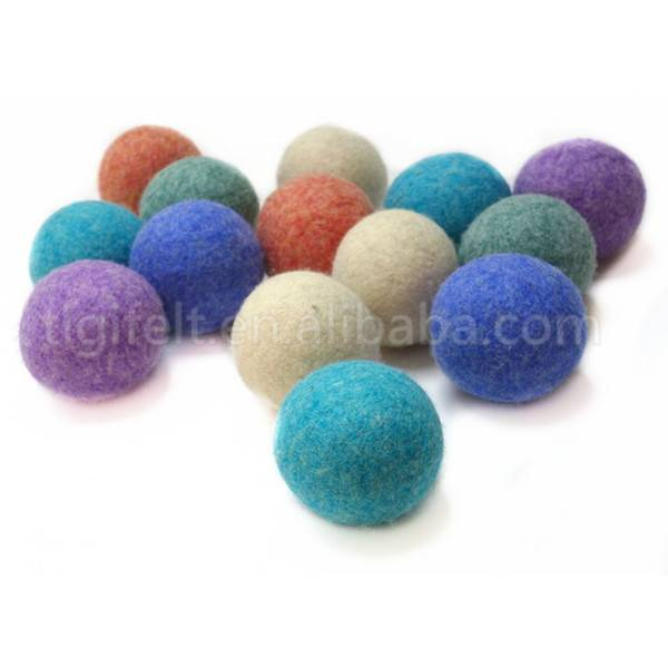 Hot sale--100% good quality wool laundry ball