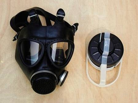 High-quality military gas mask