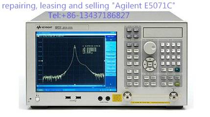 Agilent E5071C Network Analyzer