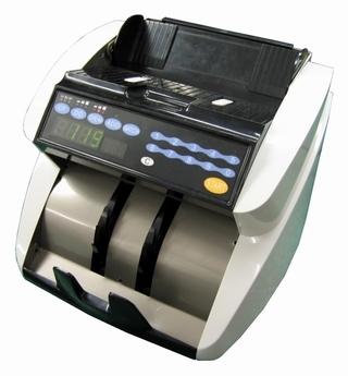 Golden-180 Trendy Streamline Double Hopper Auto Flip Banknote Counter