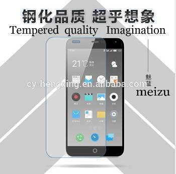 Hot selling 9H Hardness tempered glass screen protector for mobile phone