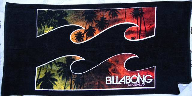 Billabong mens Surf Towels surf beach towel beachwear surfwear