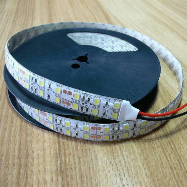 Hot Selling IP65 Double Row 120LED/Meter Flexible 5050 LED Strip Light