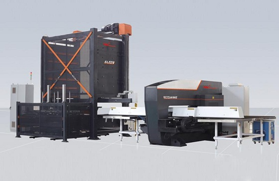 Auto Feeding & Unloading System for Punching Process