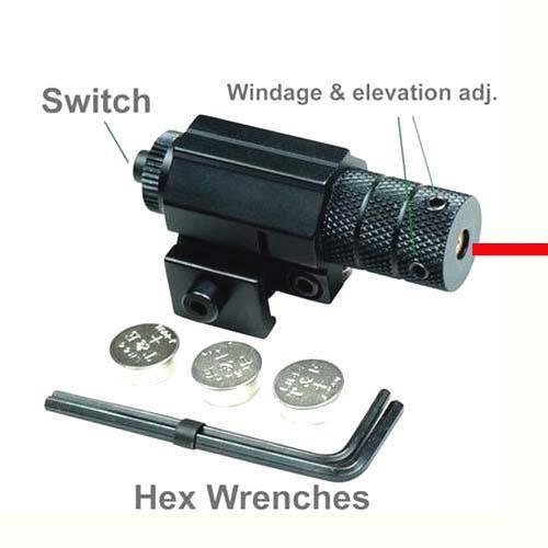 Tactical Red DOT Mini Laser Sight for Pistol Handgun Airsoft 20-22mm Rail Hotsale