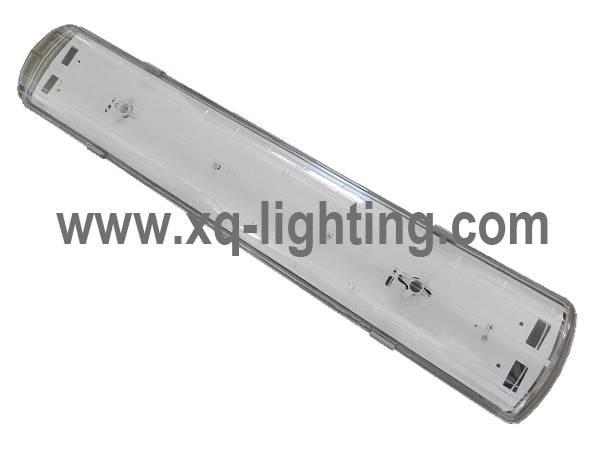 1.2m 2x36w ip65 waterproof fluorescent lighting fixture with CE RoHS
