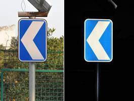 Portable Solar LED Directional arrow Traffic Signal