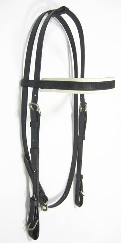 pvc coated webbing material horse head bridle