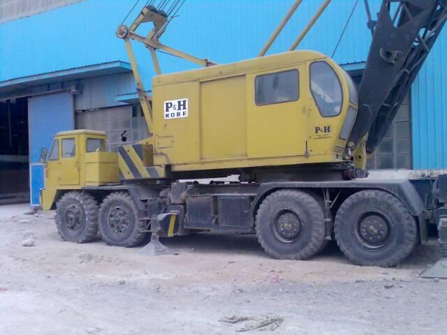 P&h 9125 used lattice boom crane,original crane