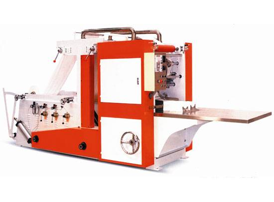 Box-Type Tissue Napkin Making Machine (Double Routes) JWC-CJ2