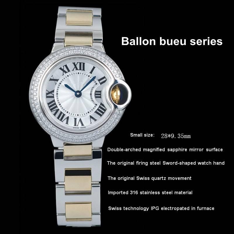 wholesale ballon bleu series fashion watch