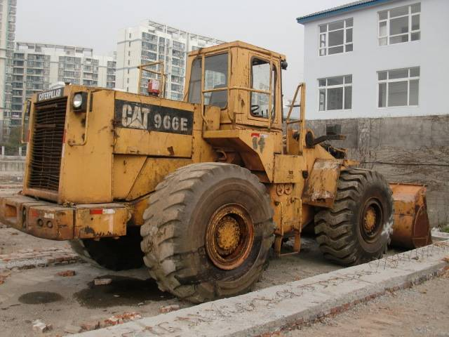 CAT 966E wheel loader, US original