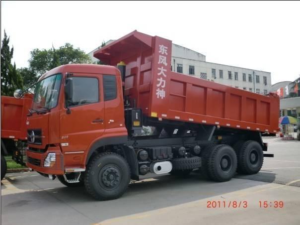 popular type 6X4 dump truck for mining