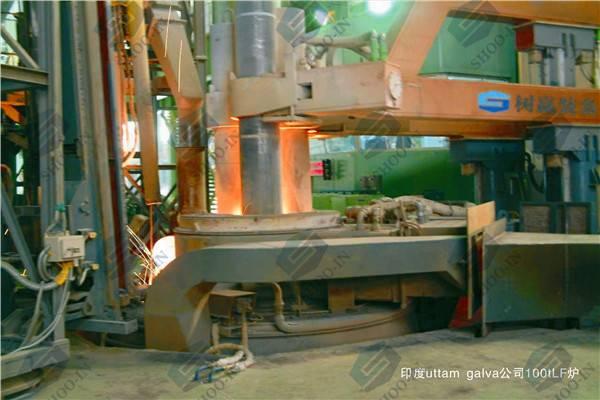 LF type ladle refining furnace