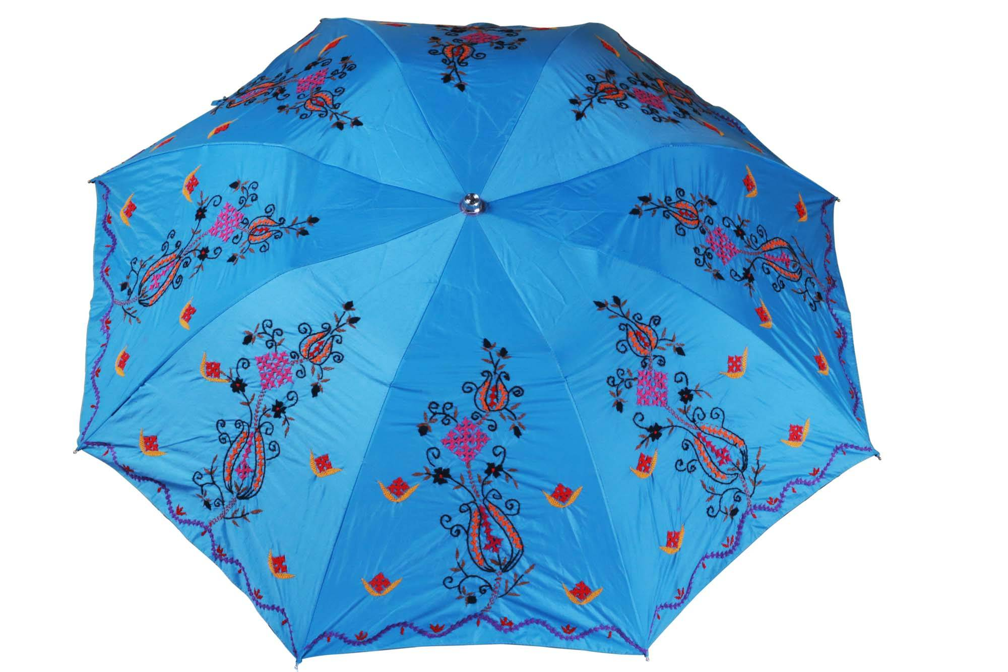 Hand Embroided Umbrella