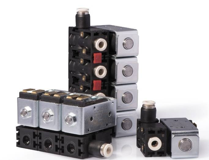 MAGMA Stackable two Way Solenoid Valves Type ETV Series 200