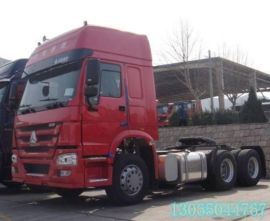 howo troctor truck 6x4