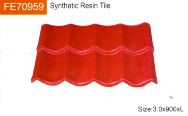 offer synthetic resin tile
