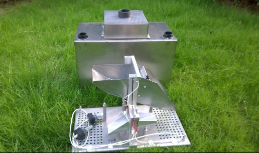QT-1000/50 Double tipping bucket flowmeter