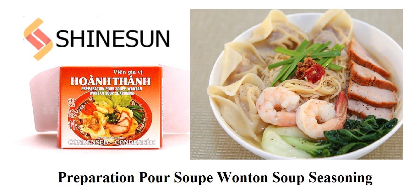 Preparation Pour Soupe Wonton Soup Seasoning Cubes