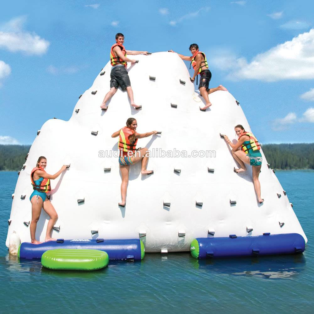 floating water inflatable island,inflatable iceberg