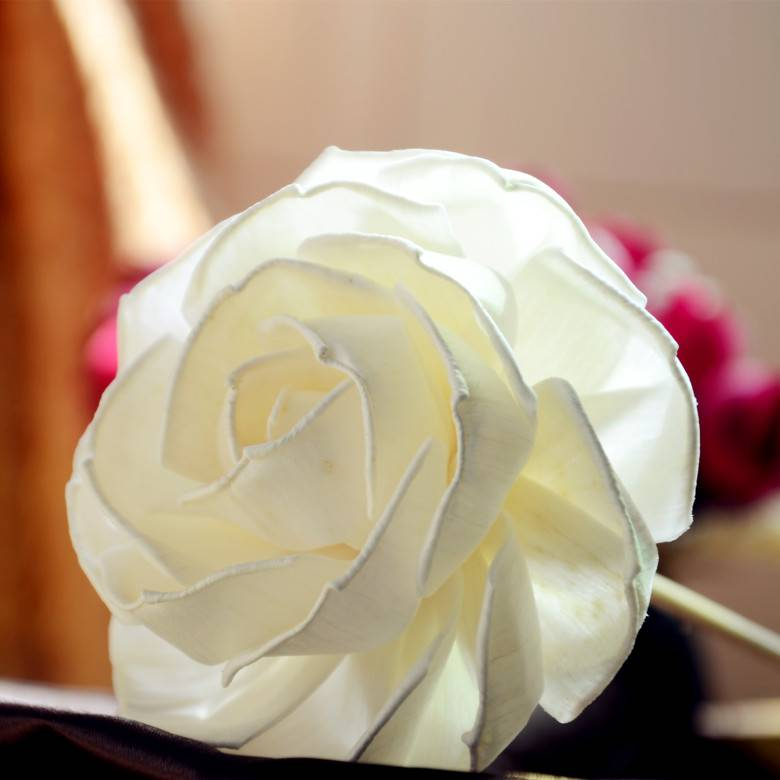 Handmade Sola Wood Paper Flower for Fragrance Diffuser