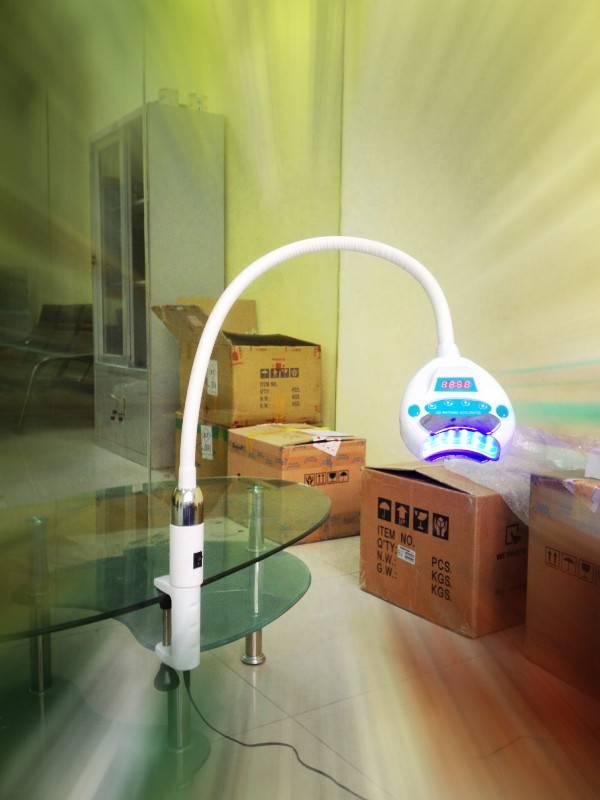 Newest portable model 12 pcs led light with RF IC card bleaching light teeth whitening light
