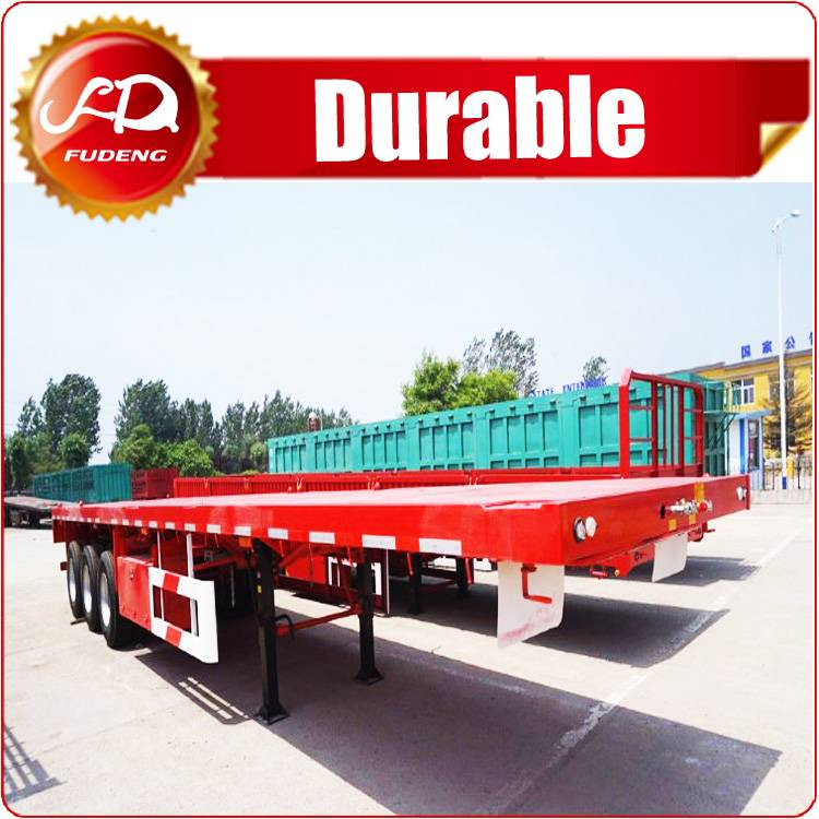 40000KG Capacity 3 Axles 40ft New Truck Trailer Container Carrier