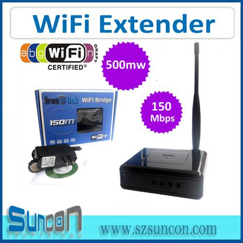 150Mbps High Power WiFi Extender with 6dbi Antenna