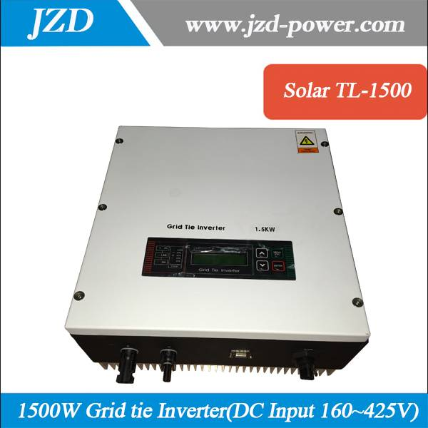 1500W Solar Power Grid tie Inverter DC160~425V to AC 220V