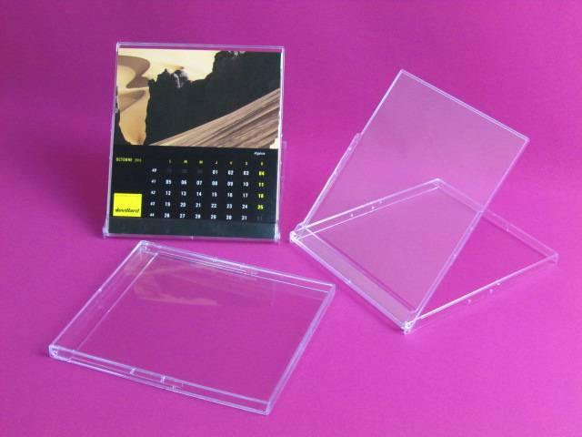 wholesale desk plastic calendar case