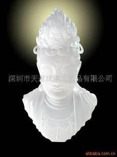 Liu li guanyin buddha statue feng shui wealth