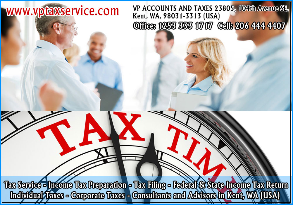 Tax Return Preparation and Filing in Kent