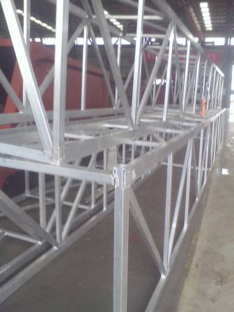 Aluminium Machinery Frame For Building