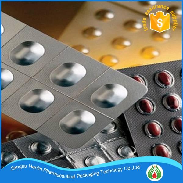 Pharmaceutical industry use packaging material soft aluminum blister film