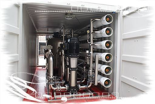 Containerized Drinking Water Treatment Plant