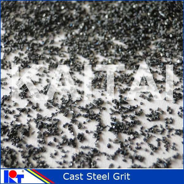 steel constructures surface cleaning steel grit G14 abrasive materials