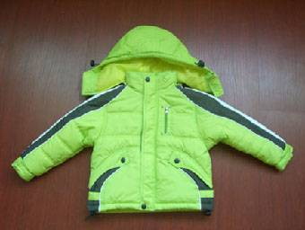 2014 fashion desigh jacket for the children winter jacket