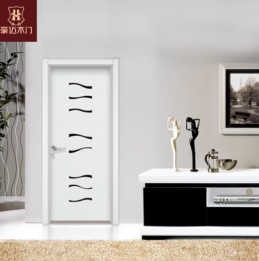 HONMAX composite wood door house door with simple and modern fashion design