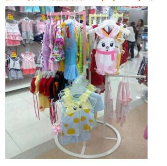 display rack for baby clothes