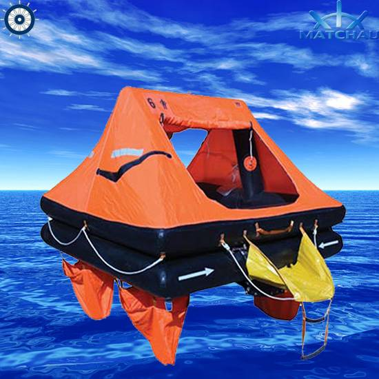 Throw Overboard Inflatable Liferaft (ISO 9650-2 regulation, For yacht)