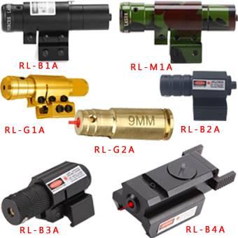 9mm Tactical Compact Pistol Shotgun Handguns Airsoft Green Laser Bore Rifle Scope Sights